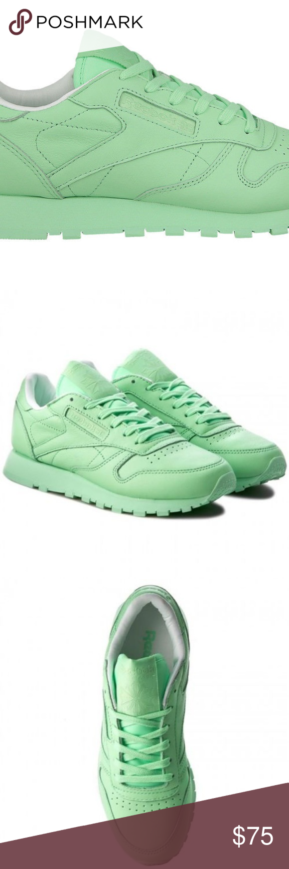 (BD2773) WOMEN S REEBOK CLASSIC LEATHER PASTELS Condition  New with box  A  brand 9188d21c1