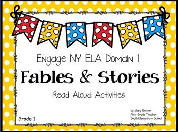 This colorful, engaging ActivInspire flip chart includes all the the read-aloud stories, flip book pictures, core vocabulary, and comprehension questions for Engage NY Grade 1 Domain 1: Fables and Stories. The flipchart also includes a table of contains page so you easily get to the story you are teaching.