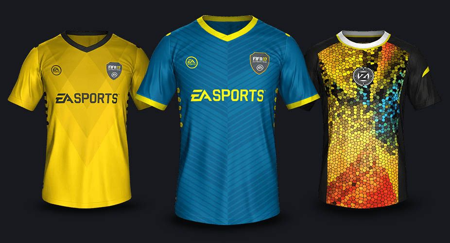 659349abbc260 Insane FIFA 17 Ultimate Team Champions Kits Collection Revealed - Footy  Headlines