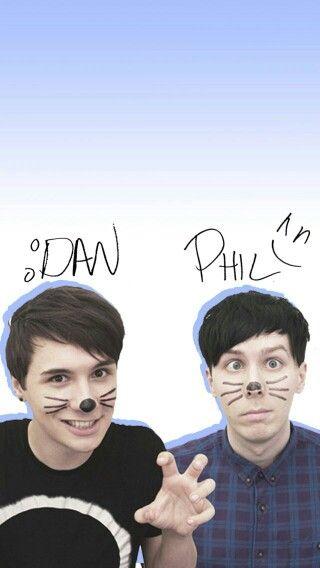 Dan And Phil Dan And Phil Dan And Phil Wallpapers Dan And Phill