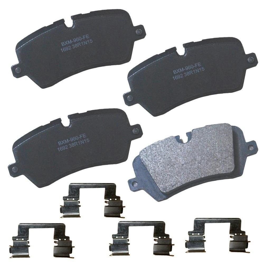 Front 2008-2015 Land Rover LR2 Rotors w//Metallic Pad OE Brakes