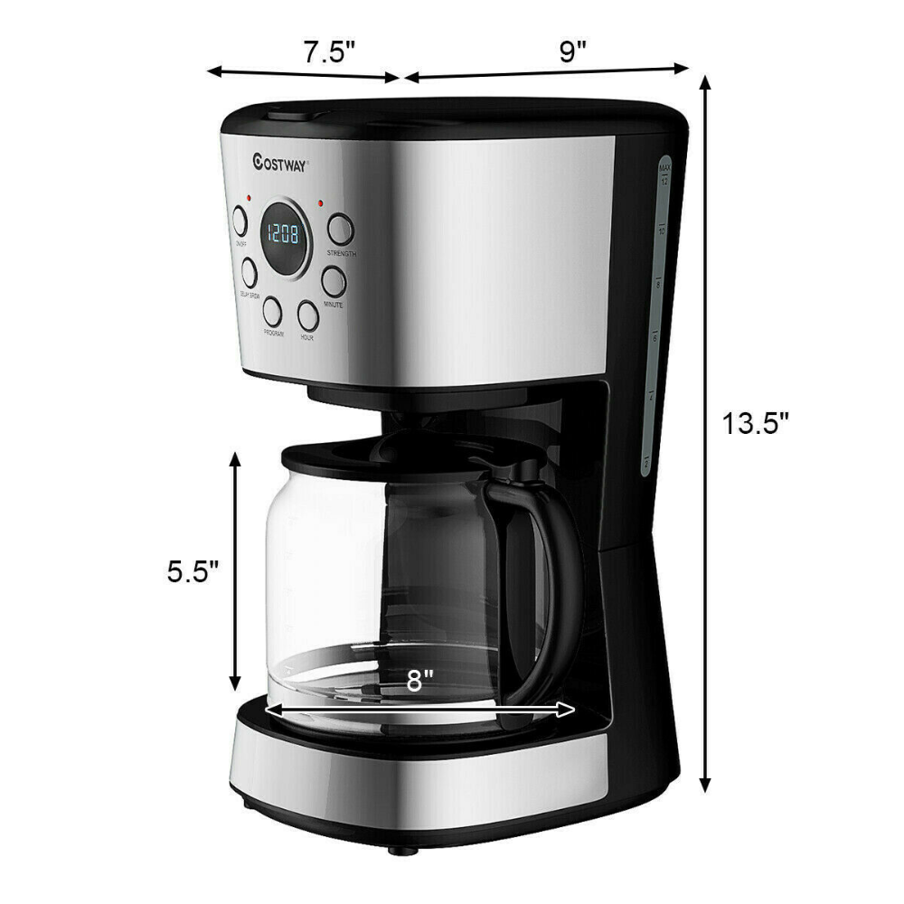 12 Cup Programmable Thermal Coffeemaker Dtc 975 Dtc 975bkn Product Manual Coffee Maker Coffee Brewer Manual