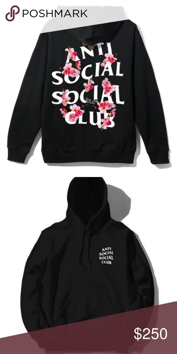 07faef5bc26d NWT Antisocial Social Club Kkoch Black Hoody Sz M NWT Antisocial Social  Club Kkoch Black Hoody Size Medium. Anti Social Social Club Tops  Sweatshirts   ...