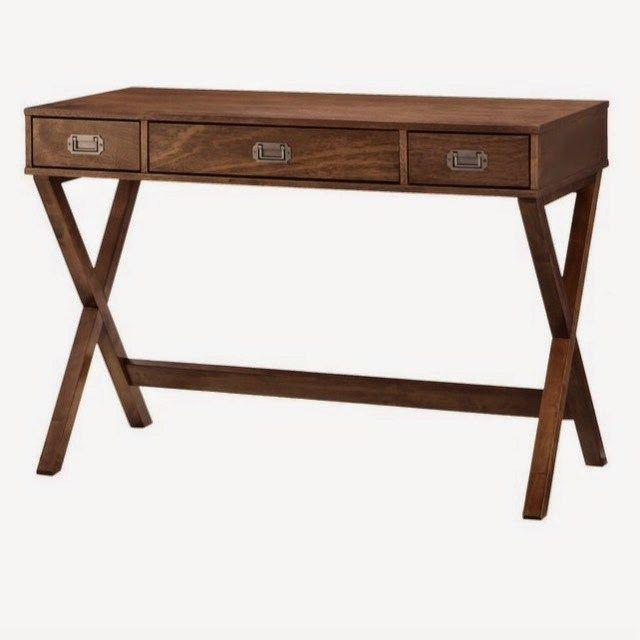 b1f237f0e5cb Midcentury Modern Pulaski DS-A130-550 Three Drawer Mid-Century Modern  Writing Desk