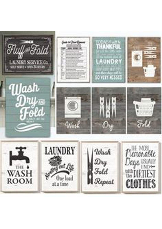 Diy Vintage Laundry Room Decor