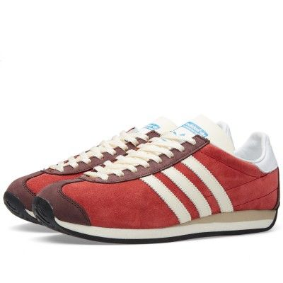 newest d4c98 a0b52 Adidas Country OG (Rust Red  Off White)