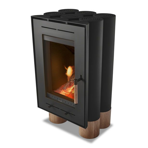 Tek Lumber An Iconic Product Results From A Collaboration Between Inngage A Design Company And Solzaima A Wood Stoves Brand An Wood Wood Logs Stove