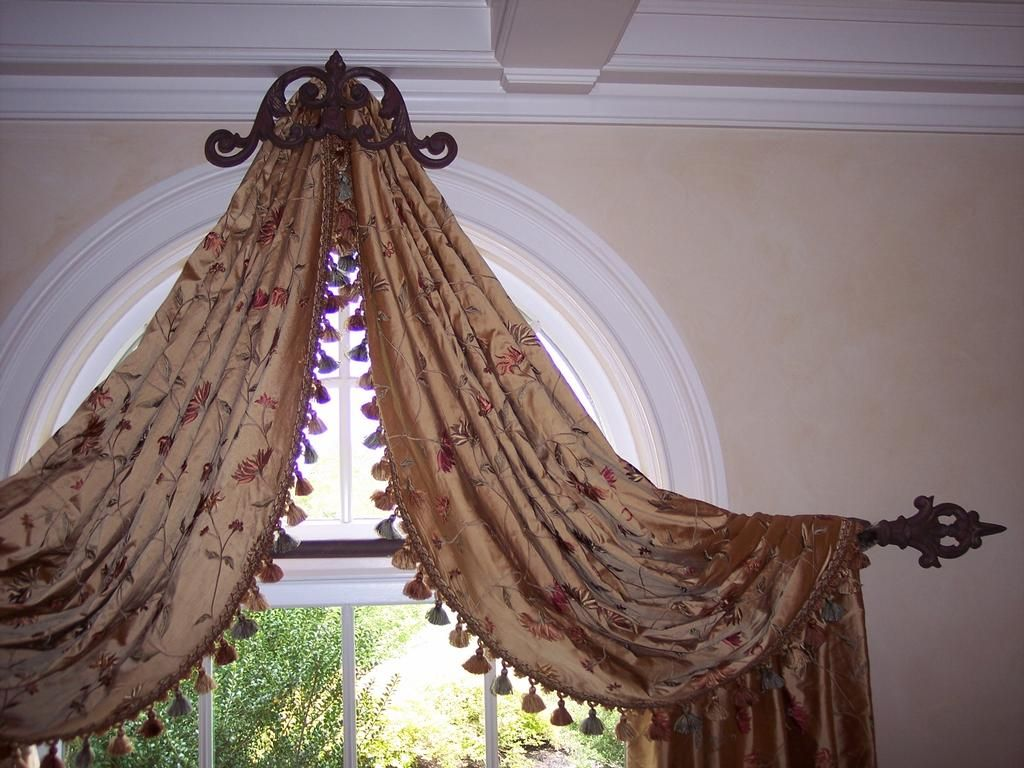 Resemblance Of Best Selections Of Curtains For Arched