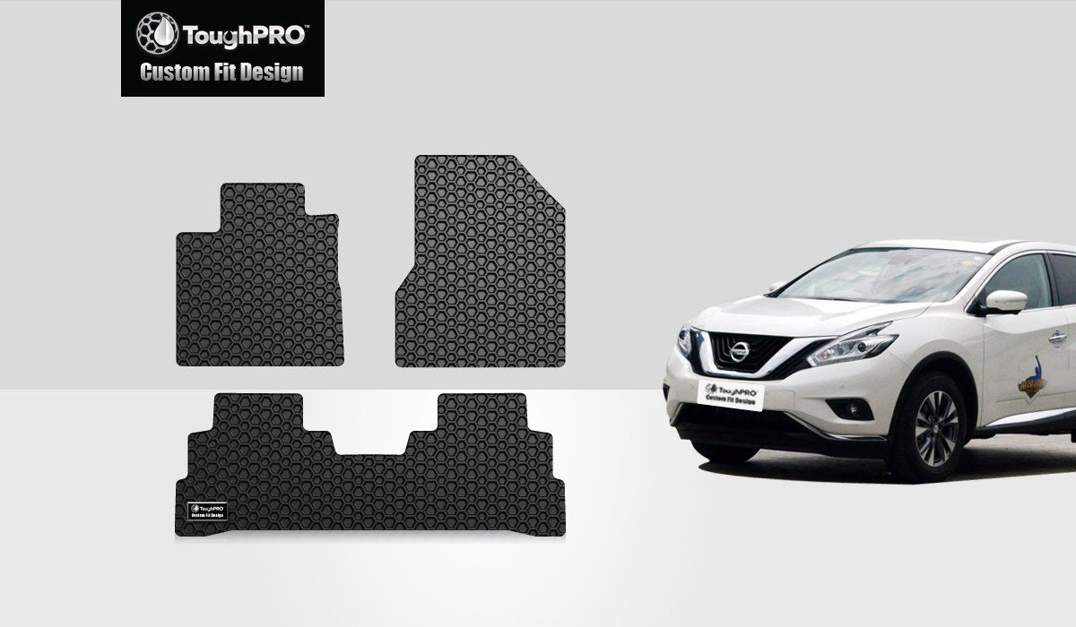 Toughpro Floor Mats Set Front Row 2nd Row Compatible With Nissan