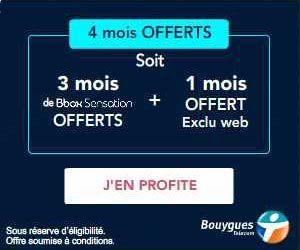 Offres Bbox 4 Mois Offerts En Exclu Web Serie Limitee Et Jusqu