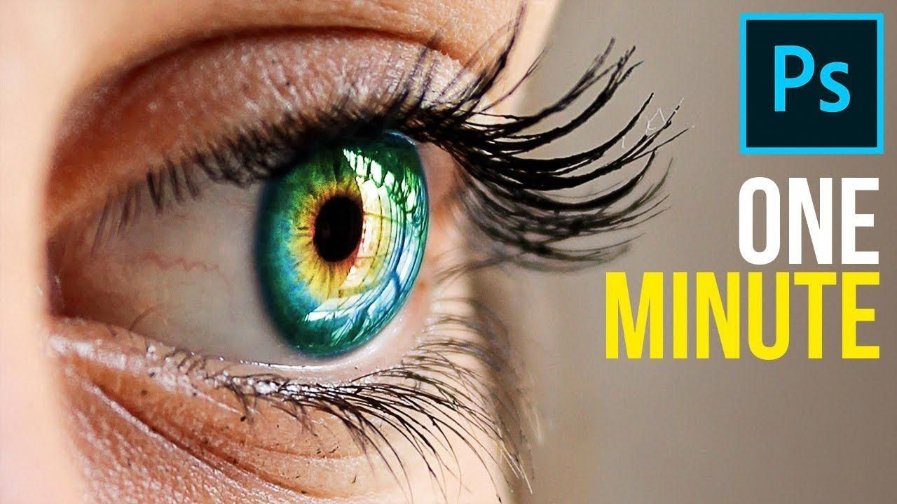 1Minute How to Create MultiColor Eyes!