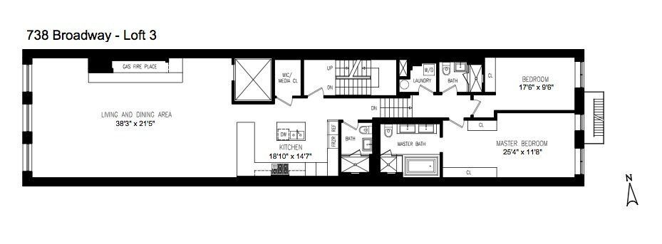 New Astor Place Conversion Has Hot Karl Approved 6m Lofts Floor Plans Loft How To Plan