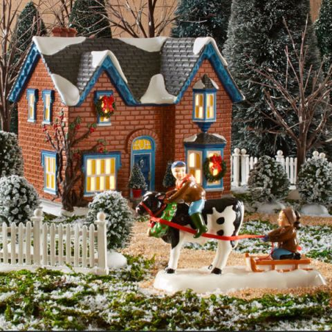 Because nothing says Christmas quite like a tiny lit-up village - wholesale christmas decor