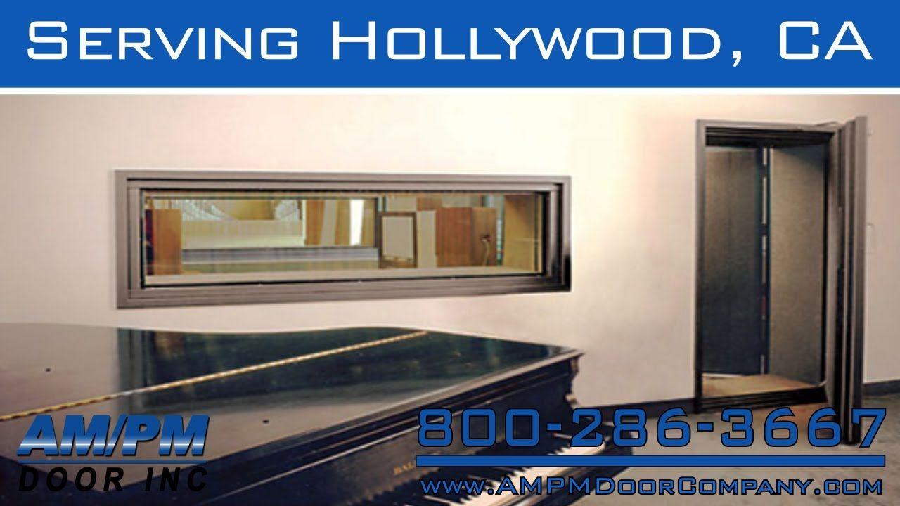 Hollywood Sound Proof Rolling Dock Fire Door Lock Repair Service