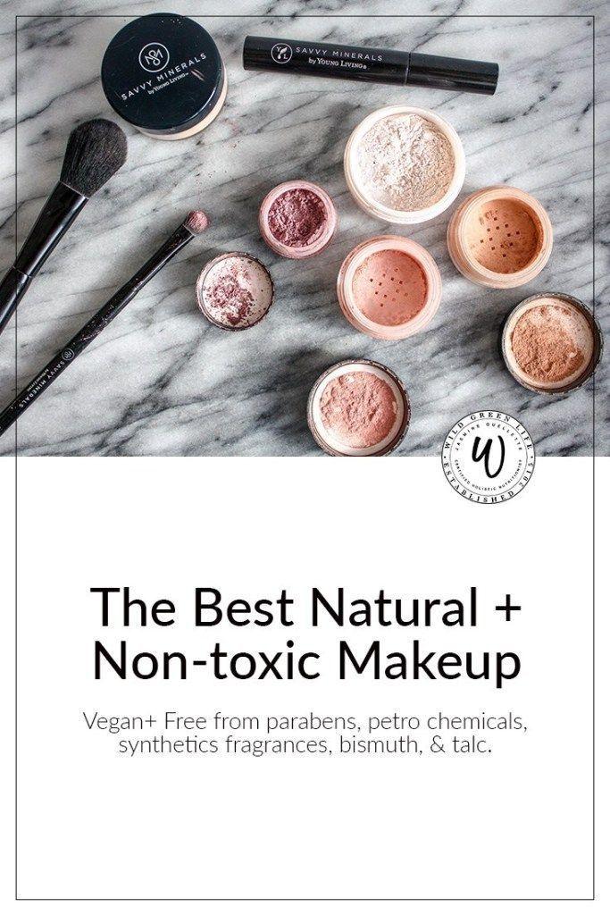 The Best Natural + Nontoxic Makeup Non toxic makeup