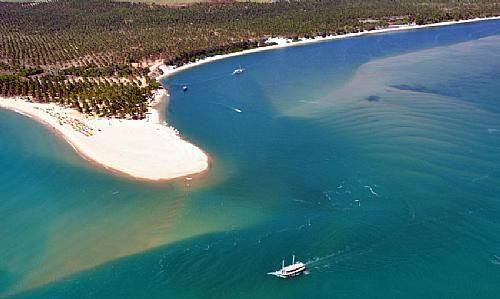 Praia Do Gunga In Barra De Sao Miguel Al Brazil Com Imagens