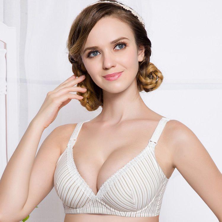breastfeeding bra maternity underwear cotton nursing bra pregnant ...