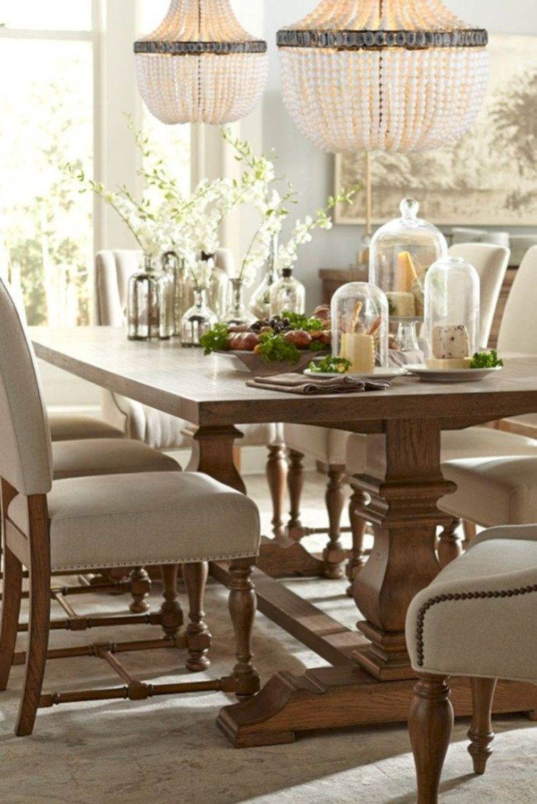 60 Creative Rustic Dining Room Design Ideas | Dining room ...