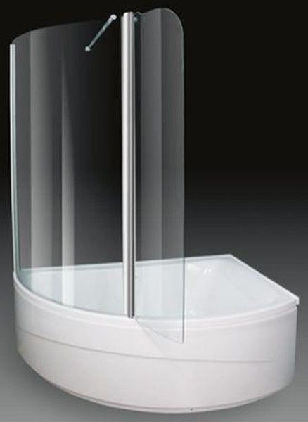 Additional image for Corner Shower Bath With Screen. Right Hand ...
