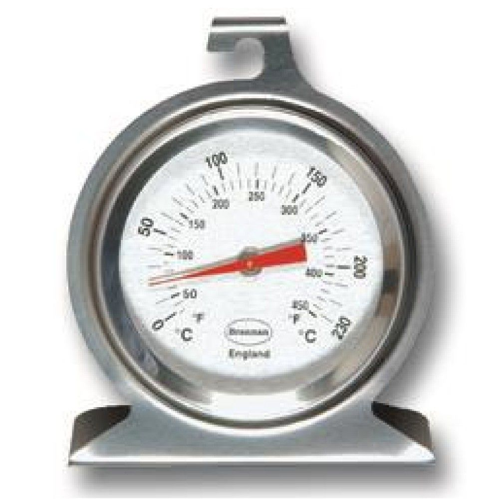 50mm Stainless Steel Dial Oven Thermometer Thermometer Temperature Stainless Steel Oven Thermometer