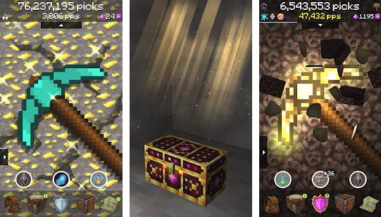 Pickcrafter Apk Idle Craft Game Mod Unlimited Money Android