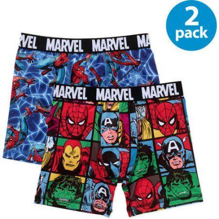 Marvel Avengers Heroes Boys 6 Pack Briefs Underpants