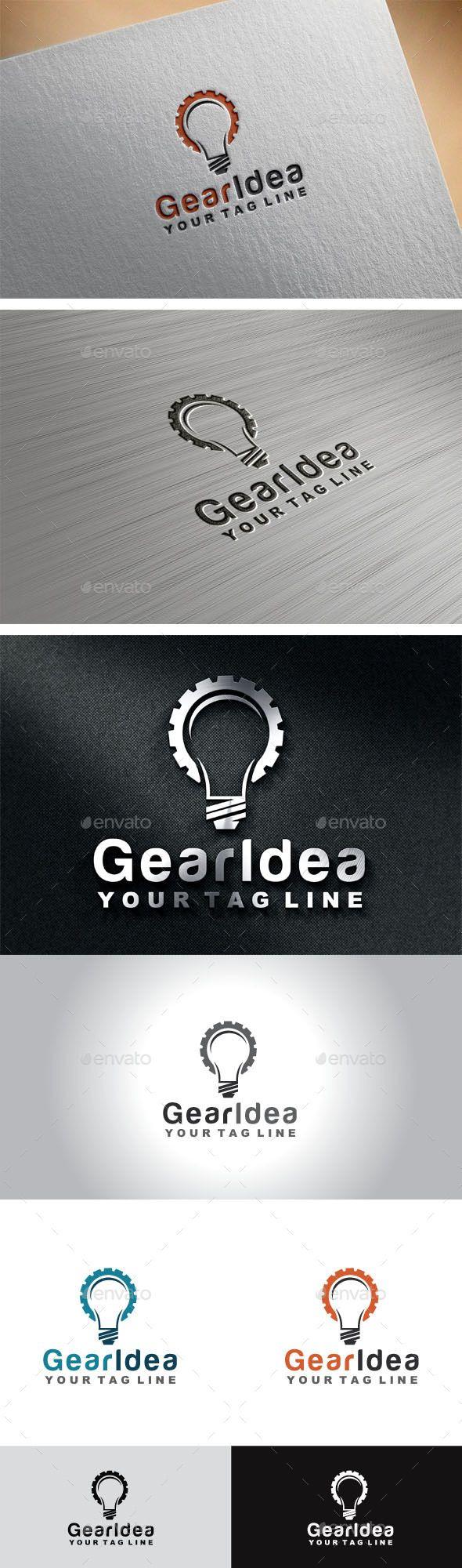 Gear Idea | Diseño de identidad corporativa, Diseños de identidad y ...