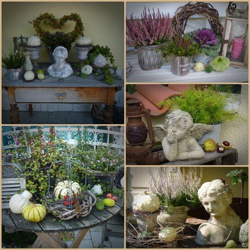 Herbstliche deko im garten wohnen und garten foto for Wohnen dekoration