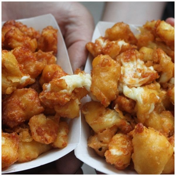 Cheese Curds @ Minnesota State Fair ❤ liked on Polyvore featuring home and kitchen & dining