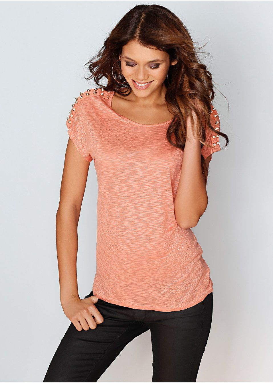 #shirt with #rivets #bonprix