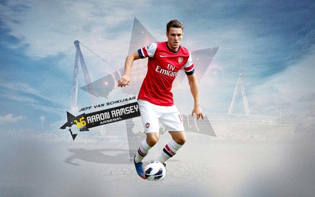 Aaron Ramsey 2012-2013 Arsenal HD Best Wallpapers