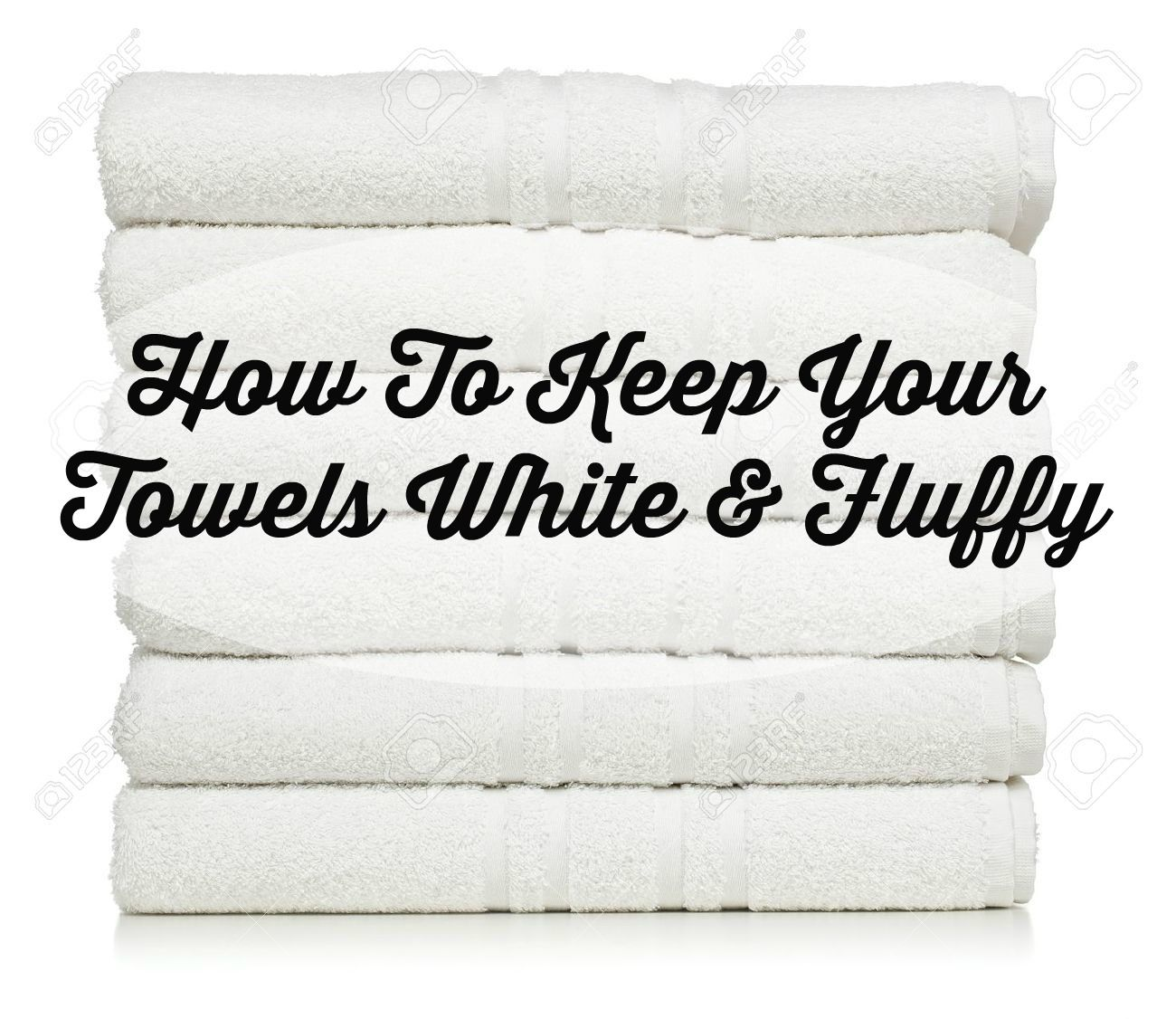 The Glam Farmhouse How To Keep Your White Towels Fluffy