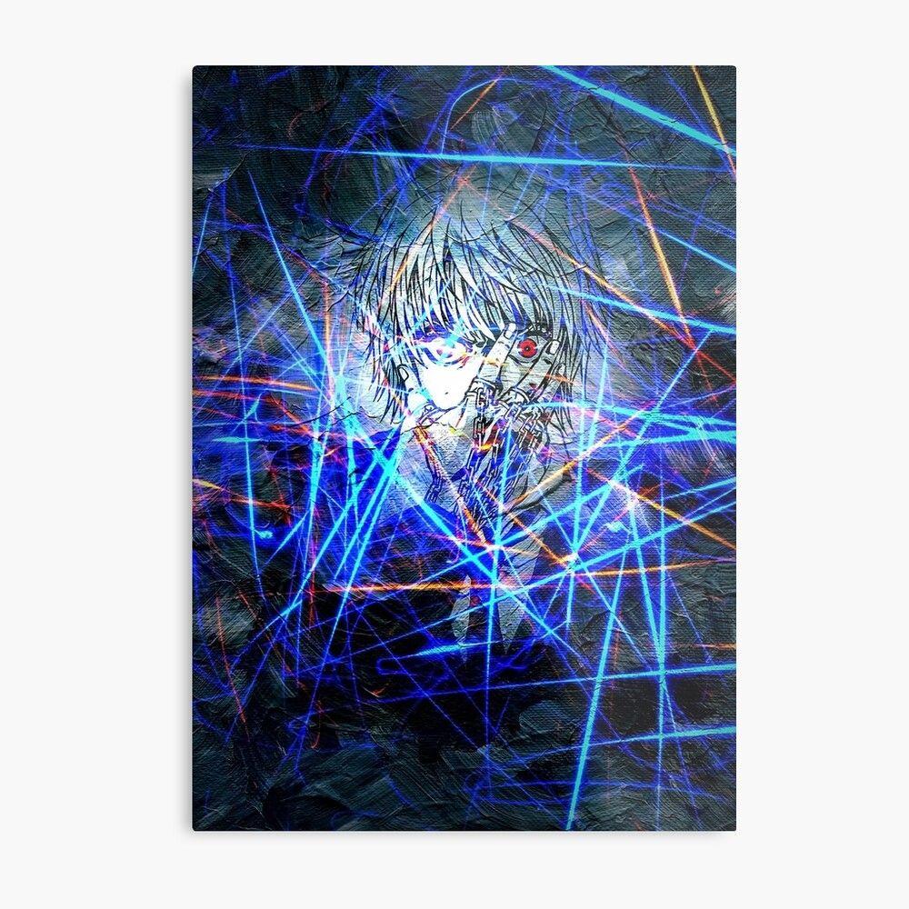 anime neon wall light