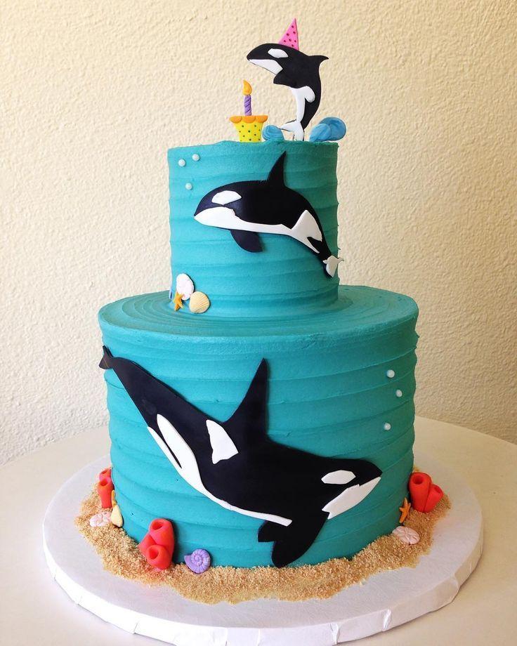 Simple orca design, but oh so effective. | Bolo, Bolos ...