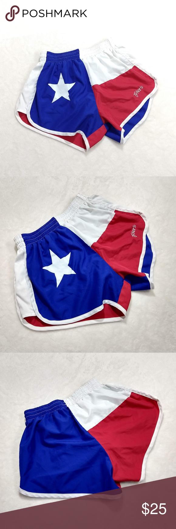Patriotic Texas Flag Tylers Running Shorts Running Shorts High Waist Fashion Shorts