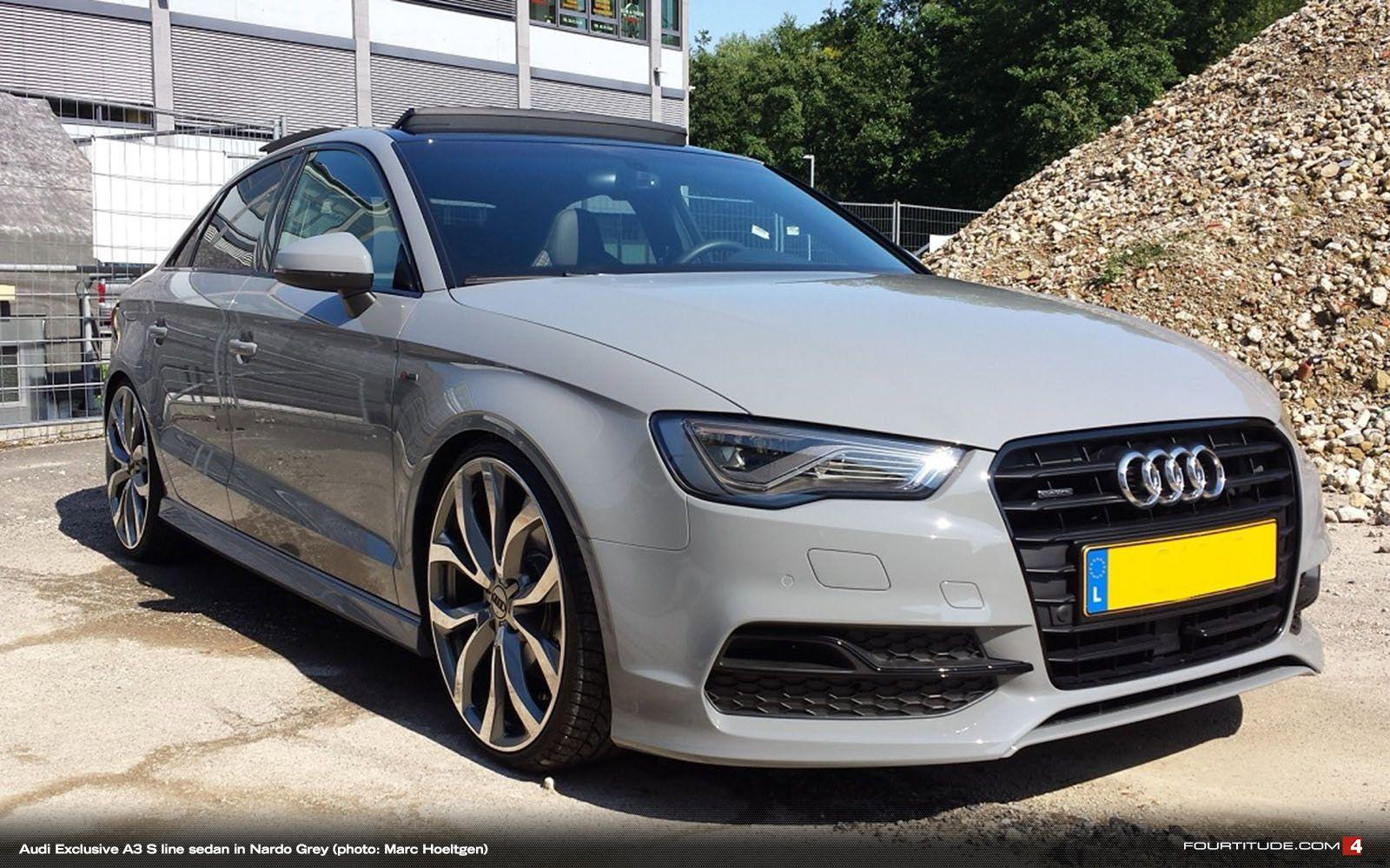 Audi Exclusive Nardo Grey A3 S Line Sedan Be Jealous Be Very