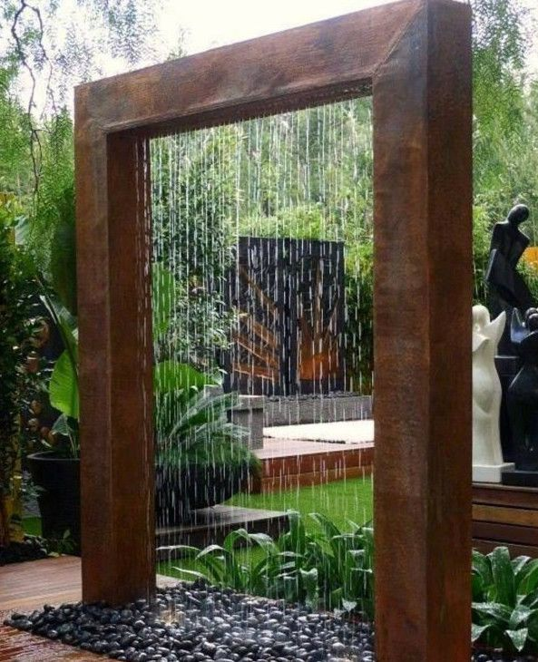 Possibly Use Fiberglass Over Plywood To Build? Garden ShowerOutdoor Water  FountainsDiy ...