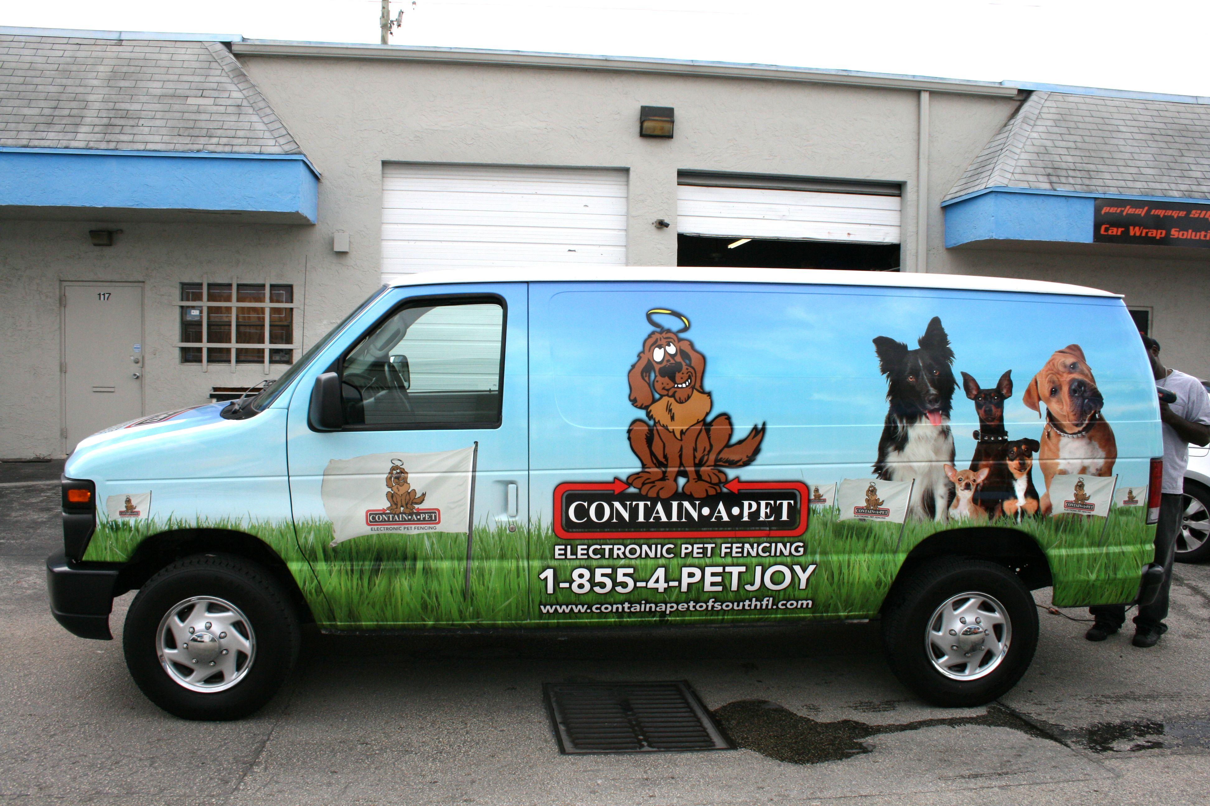 Ford van vinyl vehicle wrap