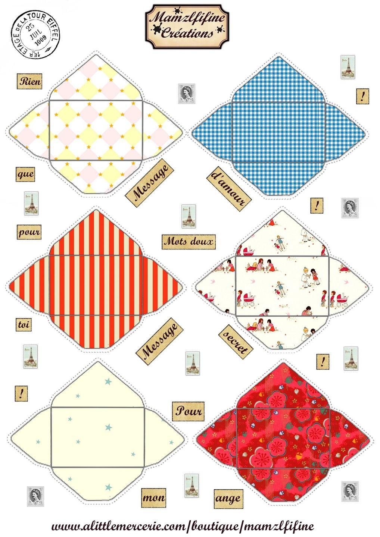 images digitales petites enveloppes imprimer n 2 enveloppe cadeaux de no l d. Black Bedroom Furniture Sets. Home Design Ideas