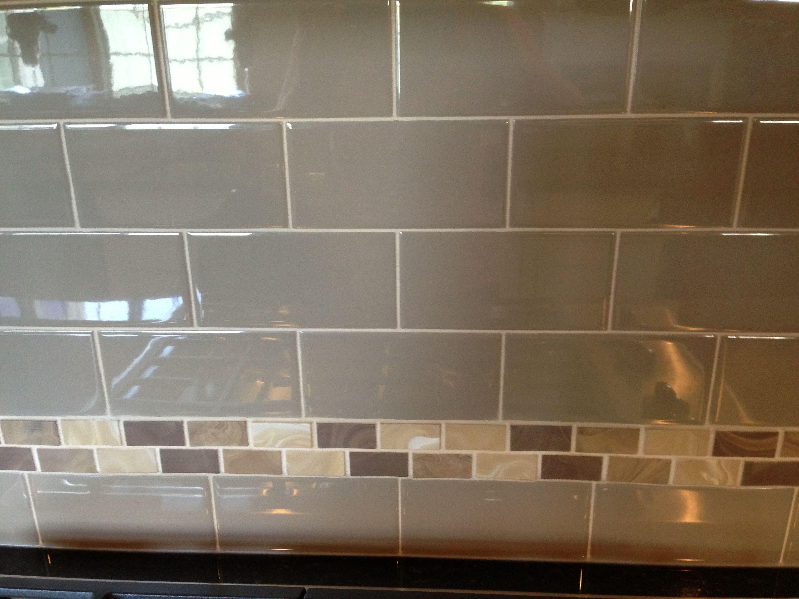 - Kitchen Backsplash, Subway Tile With Border Kitchen Backsplash