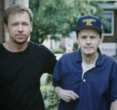 Donnie And Donnie Sr The Wahlberg Family Fathers Love Son Love