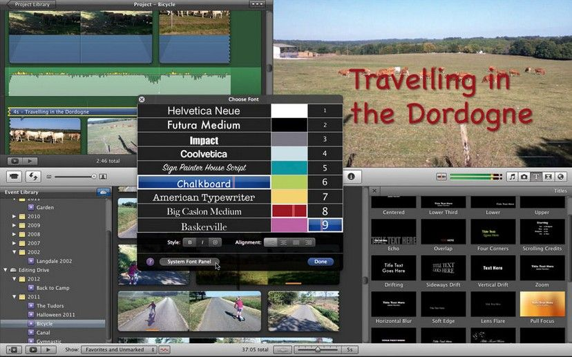how to add subtitles in imovie ipad