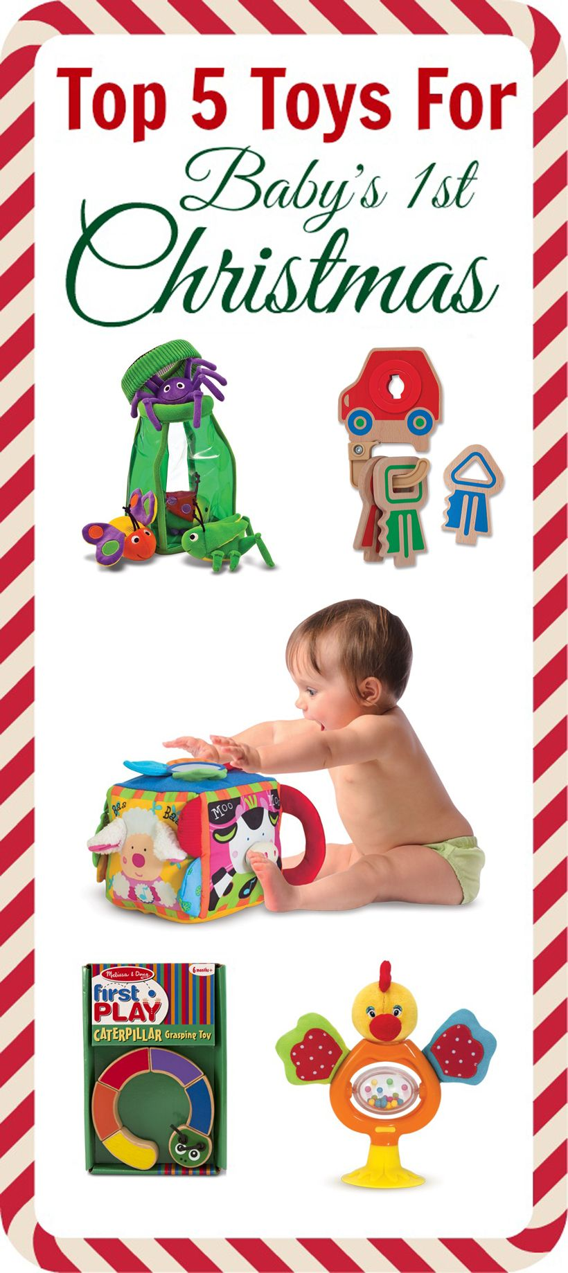 Top Toy Picks For Baby\'s First Christmas *Great selection of parent ...