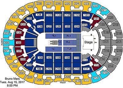 Tickets 2 Club Tickets Bruno Mars Tour Cleveland Quicken Loans Arena