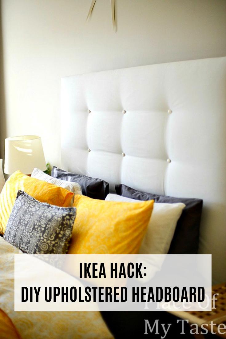 Ikea Hacks A Diy Upholstered Malm Headboard Diy Headboard