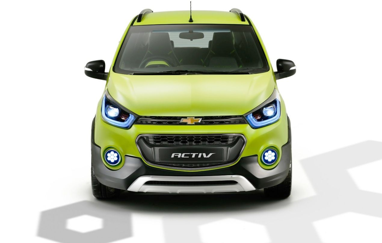 All new chevrolet beat activ at the auto expo 2016