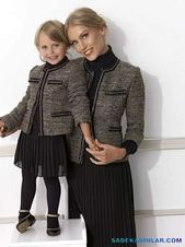 Photo of Chic and cute winter mother daughter combinations – mother daughter outfits …