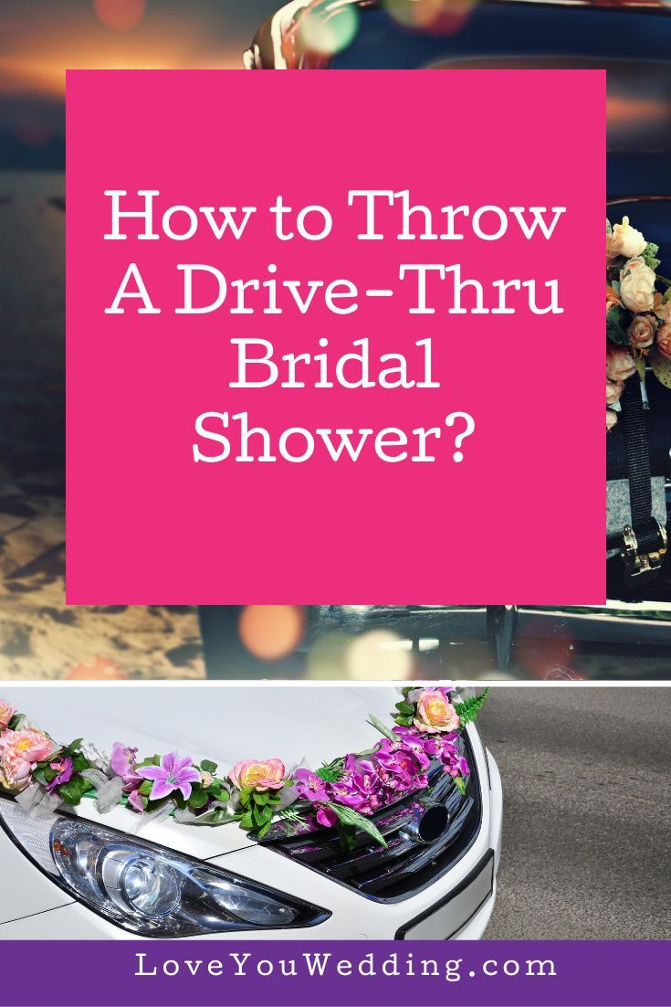 Cant have a traditional wedding shower host a memorable