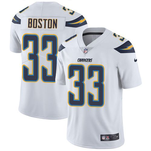 youth nike los angeles chargers 33 tre boston white vapor rh pinterest com San Diego Chargers NFL Los Angeles Chargers Logo NFL