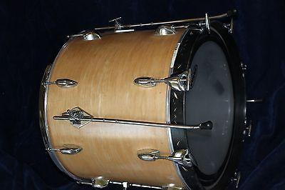 Gretsch 18 Rare 60s Vintage Round Badge Floor Tom W Bass Drum Hoop Conversion Drum And Bass Gretsch Drums